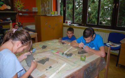 Tehniški dan: Hiške iz gline
