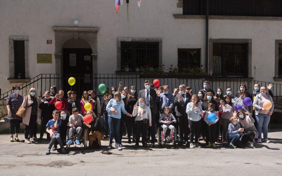 Obiskal nas je predsednik Republike Slovenije