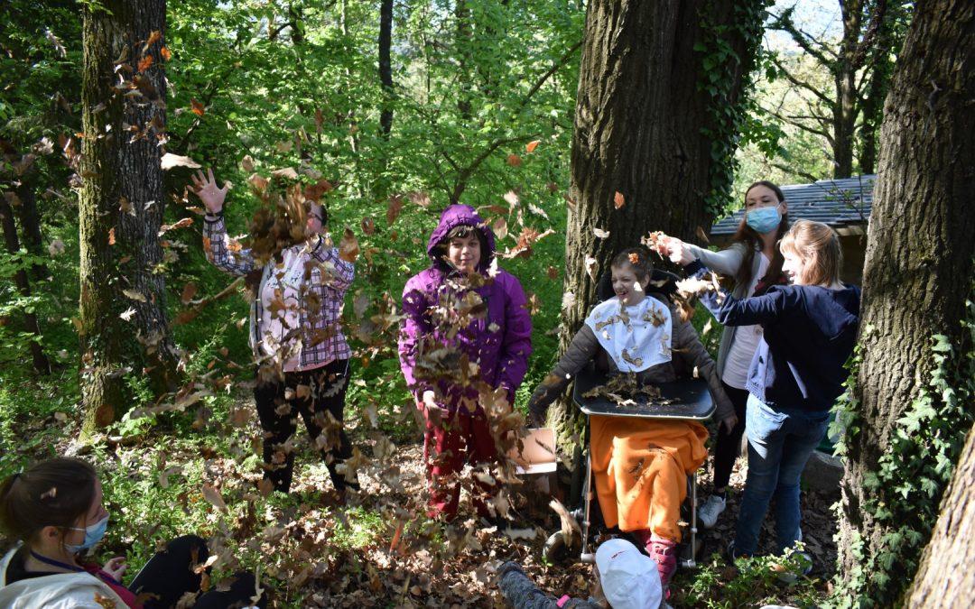 Naravoslovni dan v PP2 – Obisk gozda